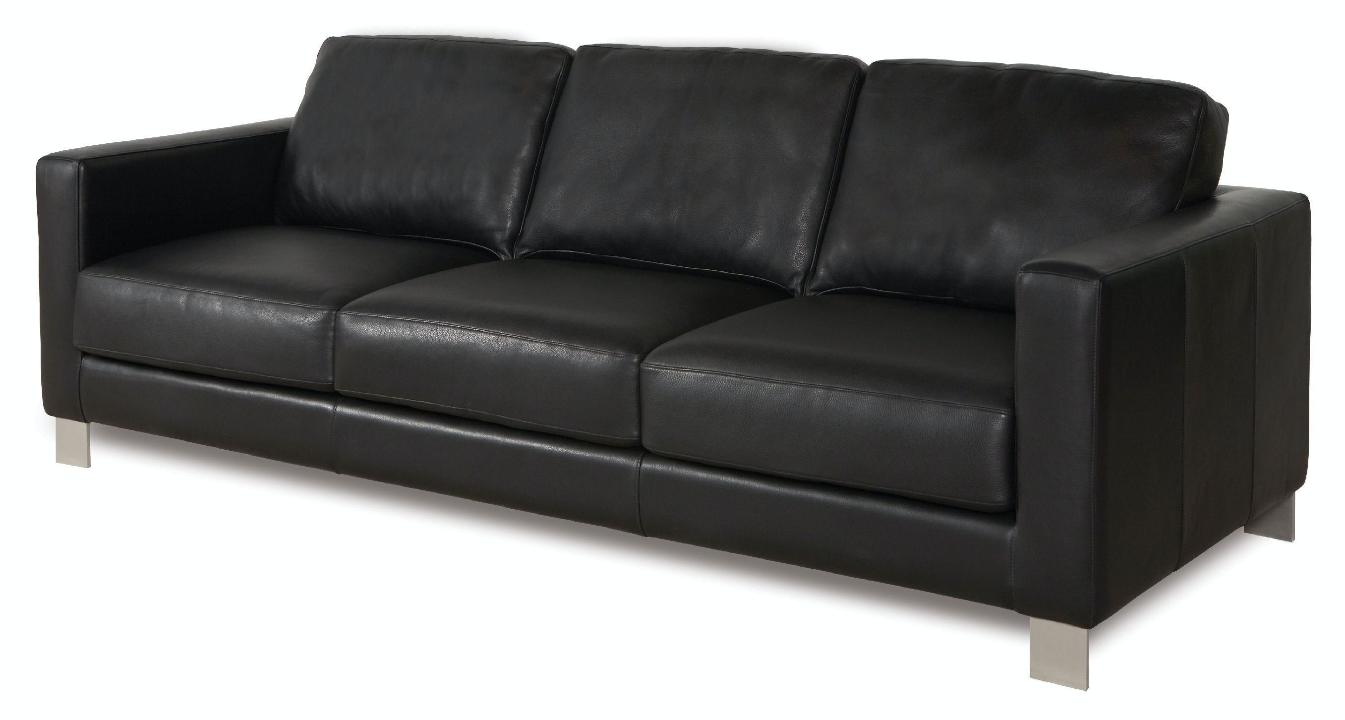 aleso3st three cushion sofa - American Leather Sofa