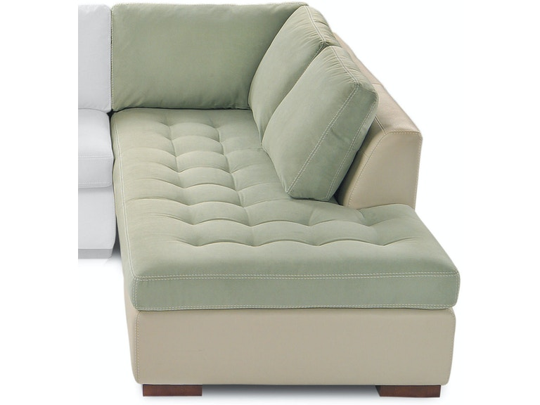 American Leather Left Arm Seating Small Per Chaise Amlarisbcla From Walter E Smithe Furniture