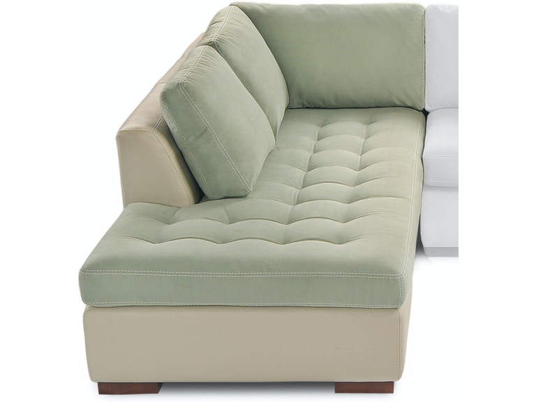 American Leather Right Arm Seating Small Per Chaise Amlarisbcra From Walter E Smithe Furniture