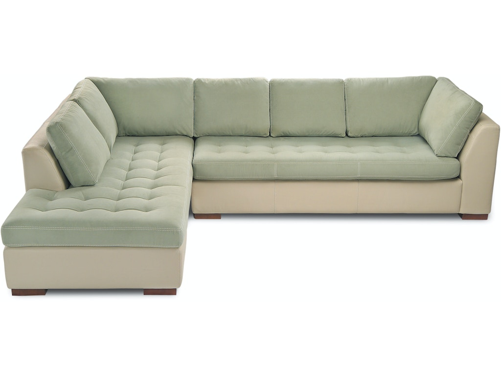 American leather living room astoria sectional mcarthur furniture calgary ab canada - Sectional sofa bed calgary ...