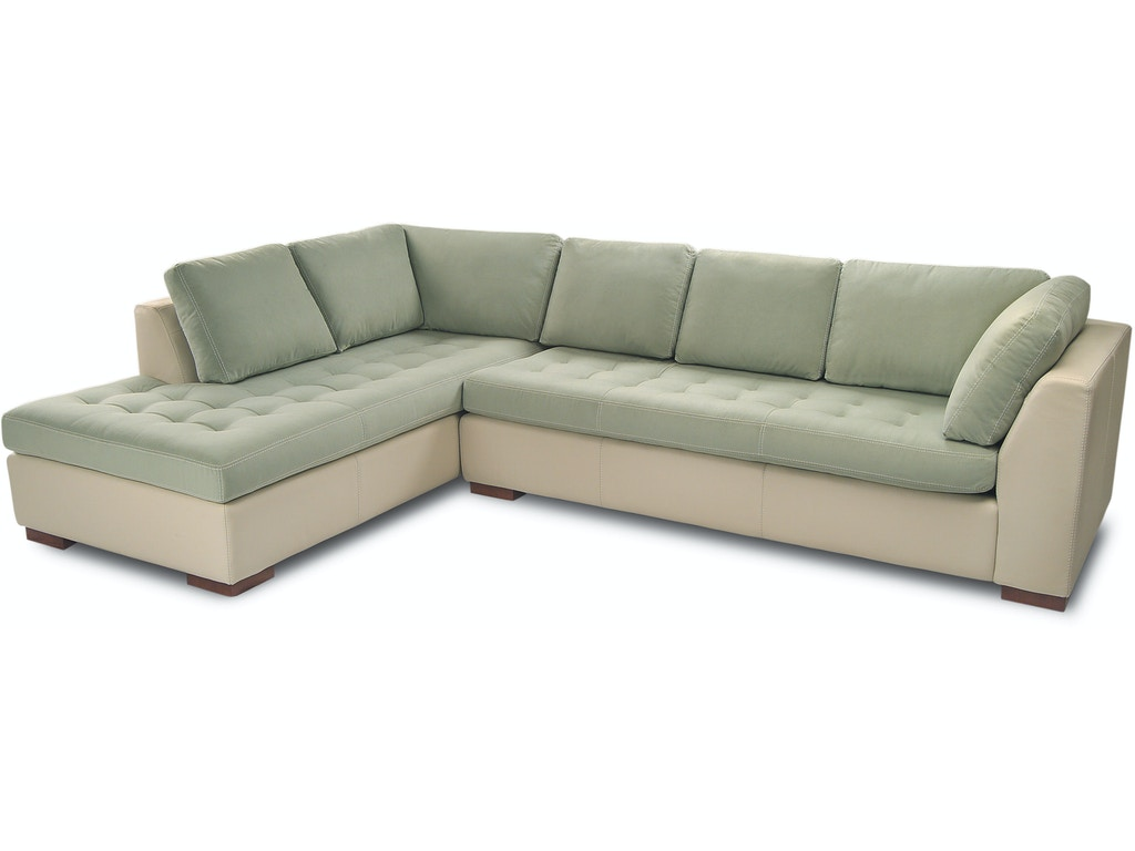 American Leather Living Room Astoria Sectional Treeforms Furniture Gallery Anchorage Ak
