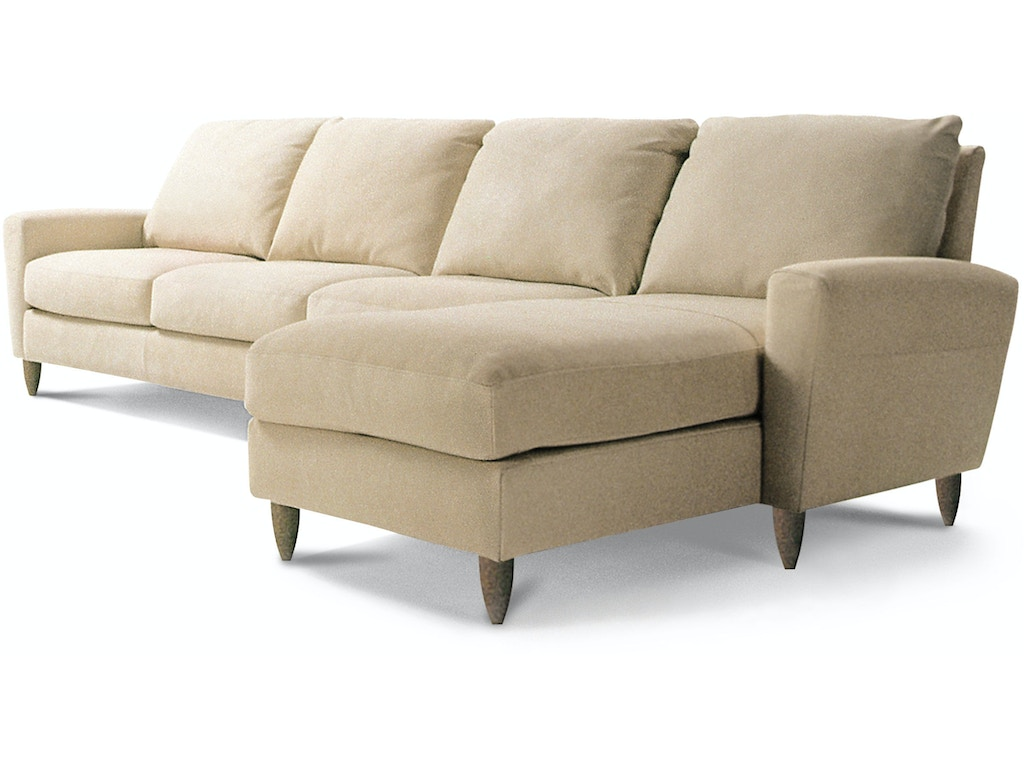 American leather living room bennet sectional treeforms for Furniture anchorage