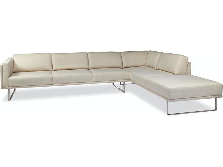 Tremendous American Leather Living Room Berkley Sectional Mccreerys Dailytribune Chair Design For Home Dailytribuneorg