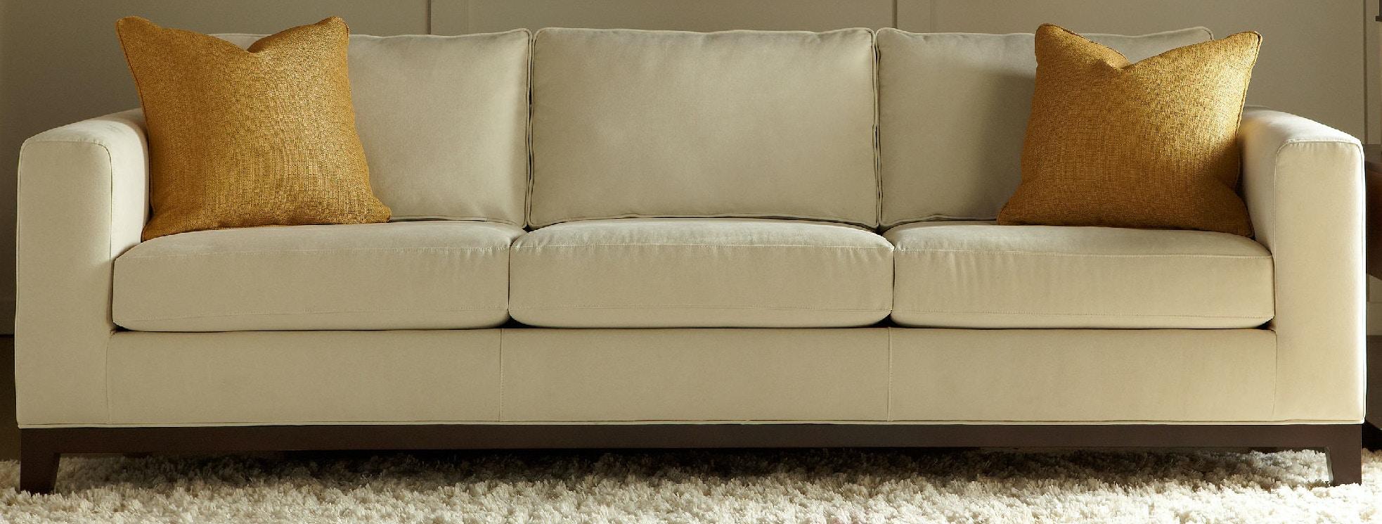 American Leather Three Cushion Sofa BRK SO3 ST