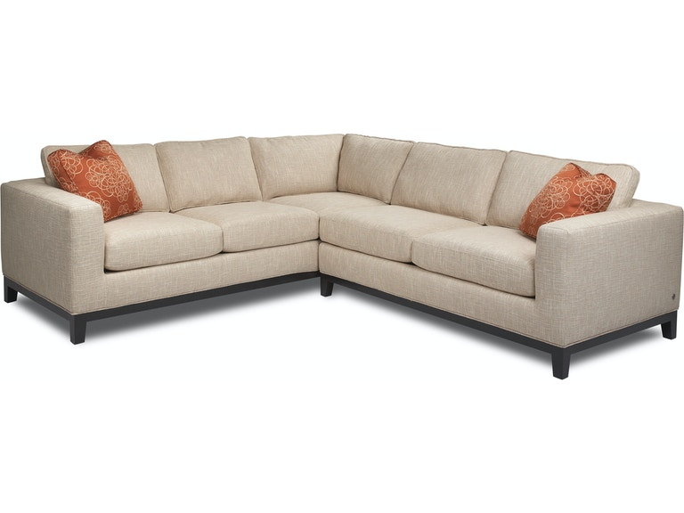 American Leather Living Room Brooke-Sectional - Noel ...