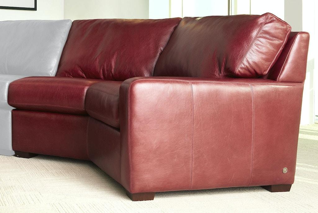 American Leather Living Room Left Arm Seating Wedge CSN-WDG-LA ...