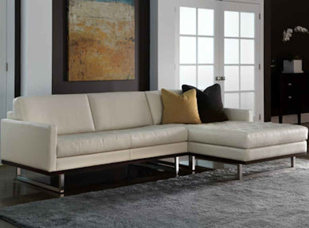 American Leather Ttn So3 St Living Room Tristan Sofa