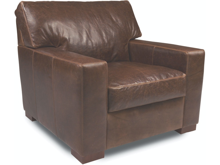 American Leather Chair DAN-CHS-ST