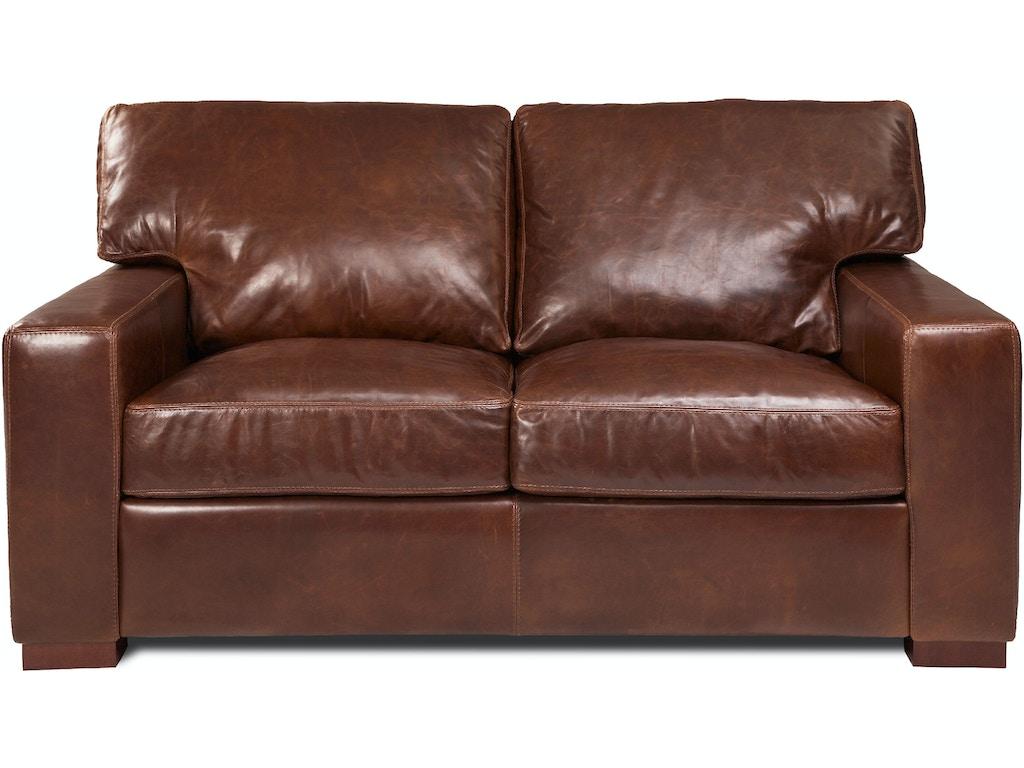 American Leather Loveseat Dan Lvs St