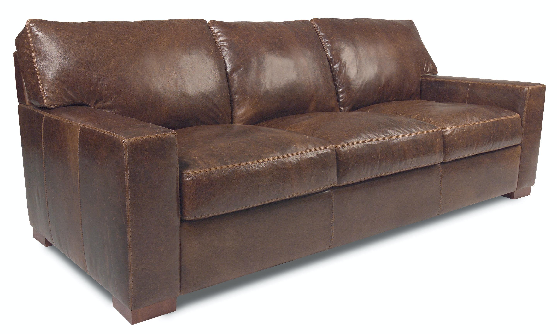 American Leather Three Cushion Sofa DAN S03 ST