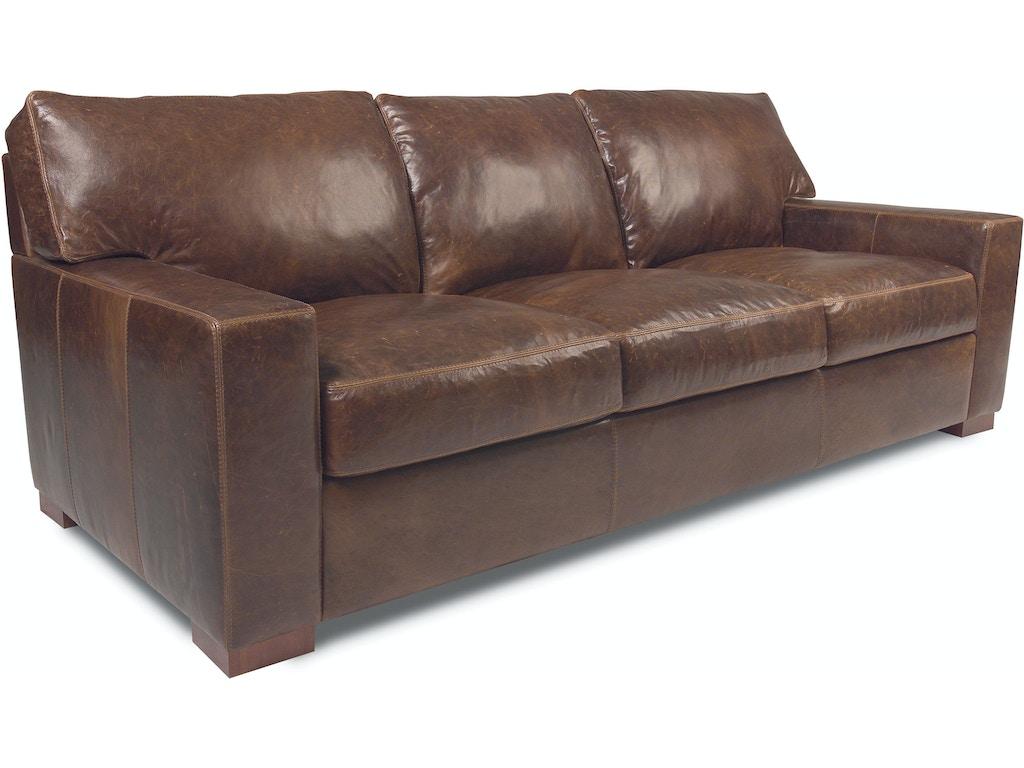 American Leather Living Room Three Cushion Sofa Dan S03 St
