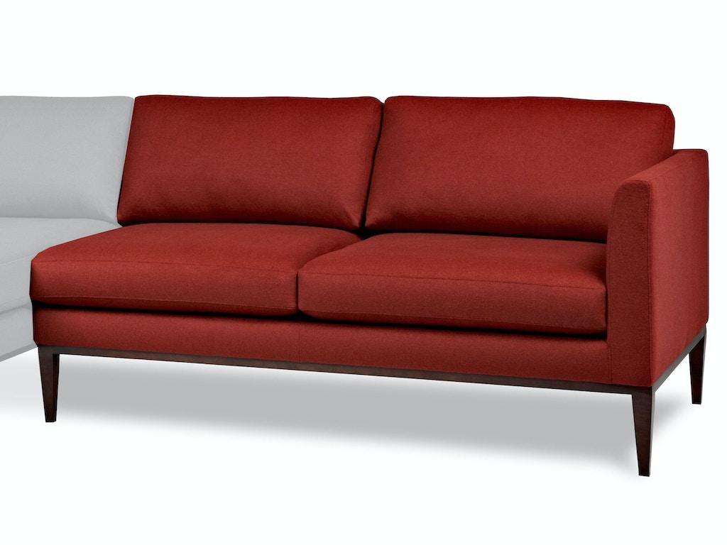 American Leather Left Arm Seating Loveseat Hen Lvs La