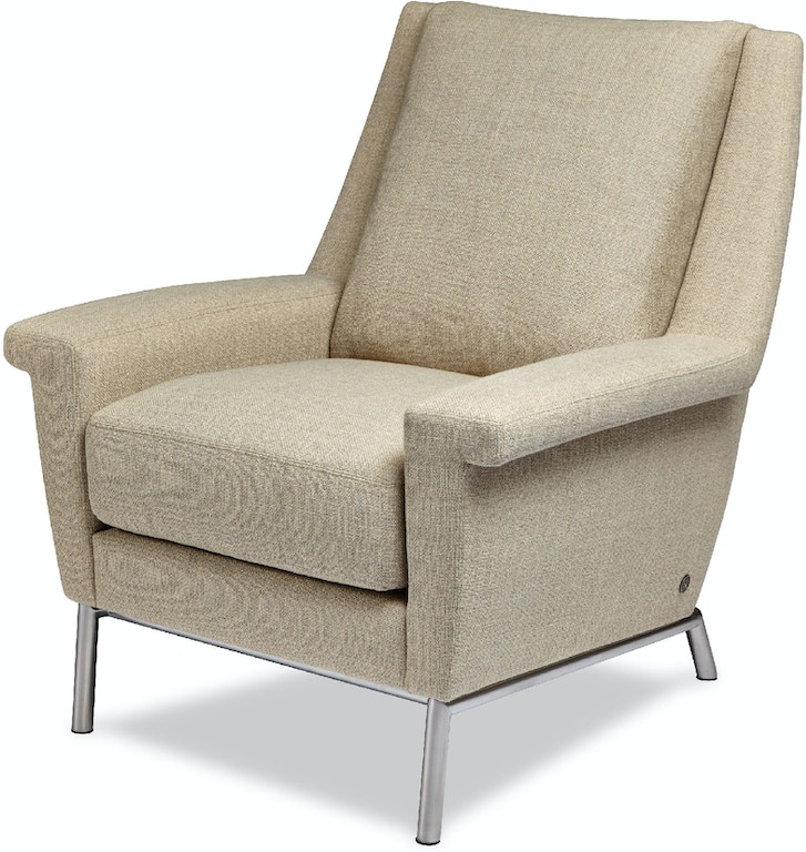 American Leather Living Room Chair HRV-CHR-ST - Urban ...