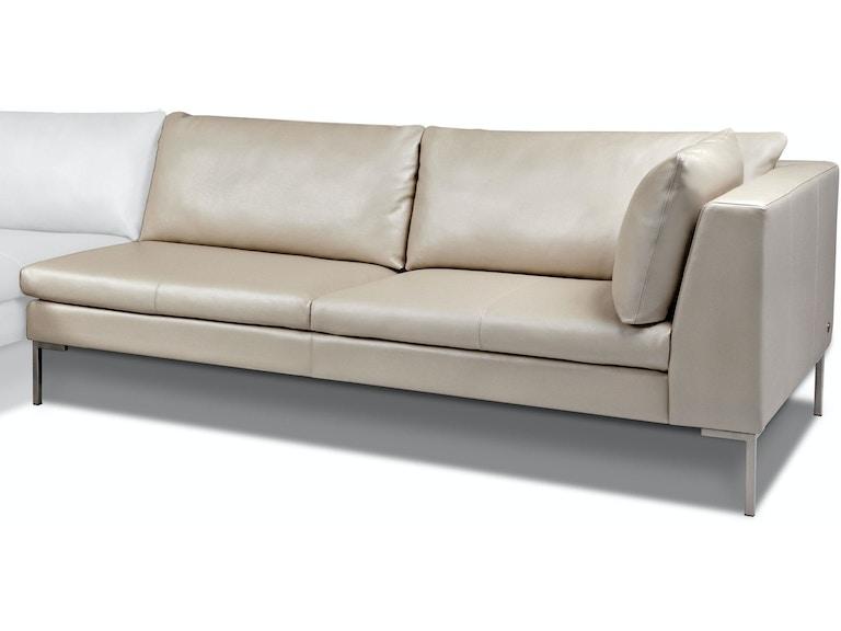 American Leather Left Arm Two Cushion Sofa Ins Sm2 La In Portland Oregon