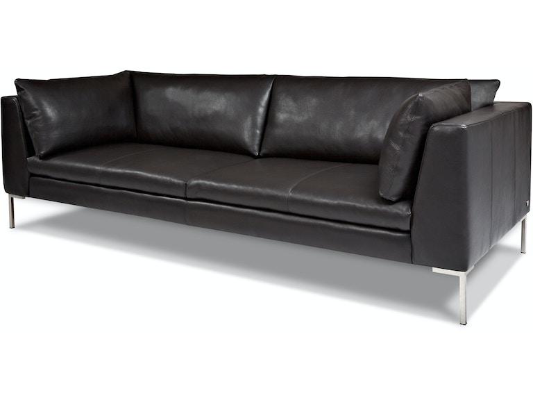 American Leather Two Cushion Sofa INS-SM2-ST