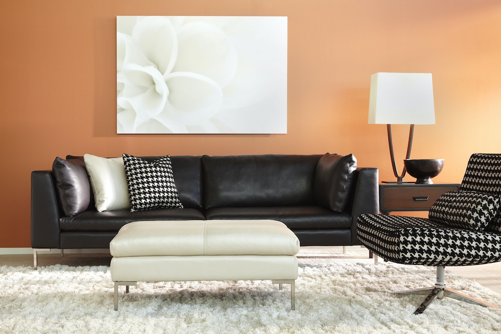 American Leather Living Room Two Cushion Sofa Ins So2 St