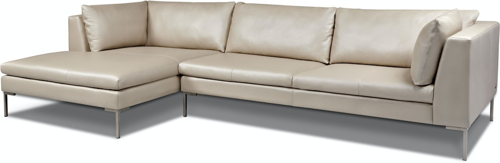 American Leather Inspiration Sectional Living Room