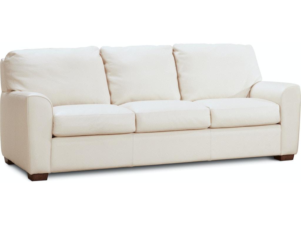 American Leather Living Room Three Cushion Sofa Kad S03 St