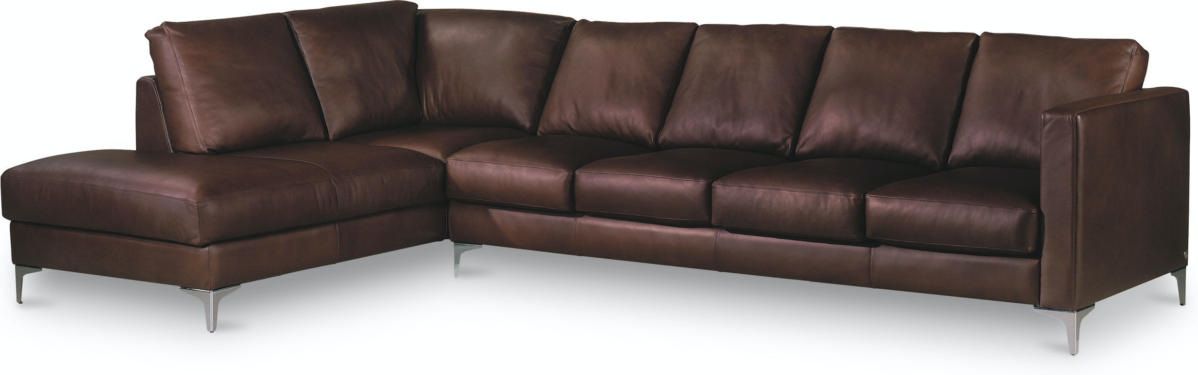 American Leather Living Room Kendall Sectional Malouf