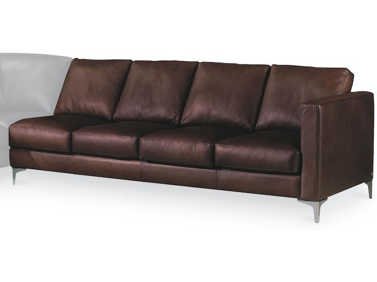 American Leather Left Arm Four Cushion Sofa Amlkndso4la From Walter E Smithe Furniture Design