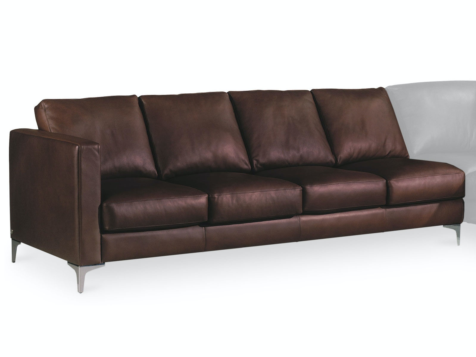 Merveilleux American Leather Right Arm Four Cushion Sofa AMLKNDSO4RA From Walter E.  Smithe Furniture + Design