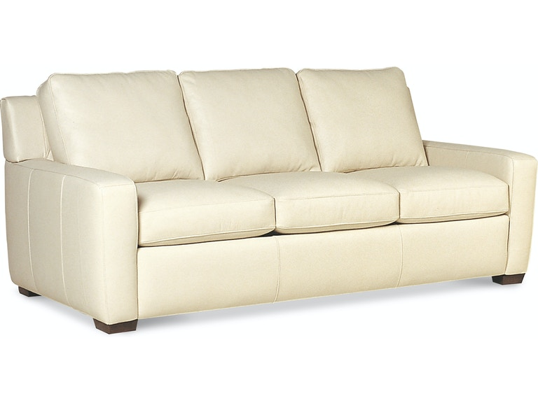 american leather three cushion sofa lis so3 st - American Leather Sofa