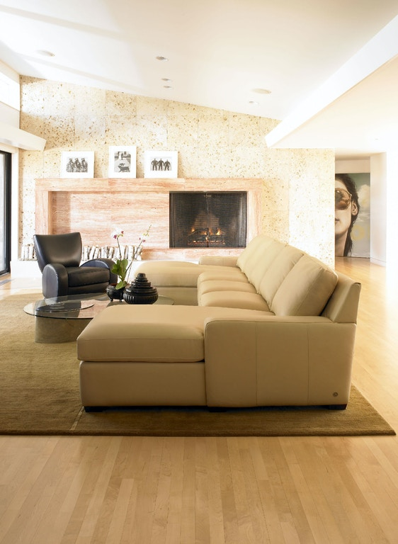 American Leather Lisben Sectional Living Room