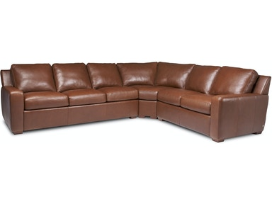 American Leather Living Room Lisben-Sectional - Klaban s Home ... 2e91cff52