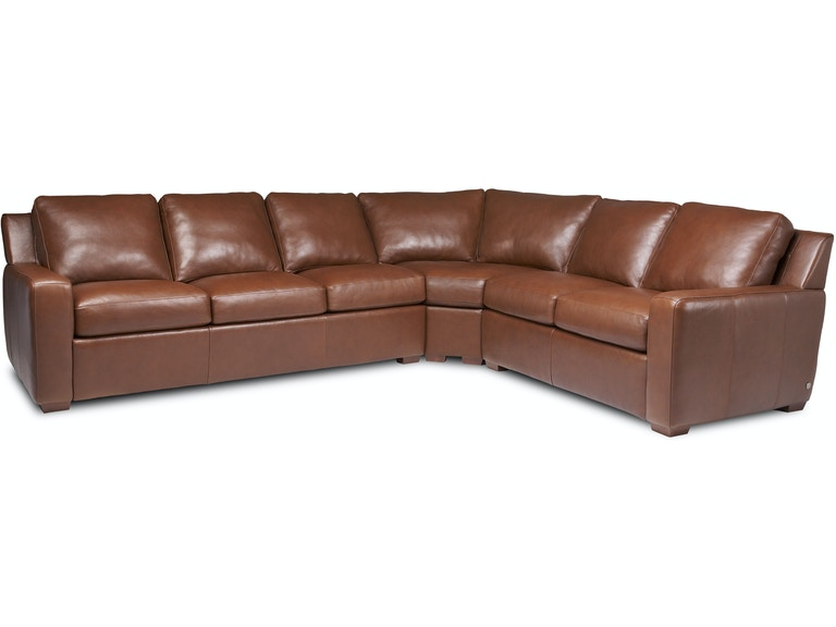 Terrific American Leather Lisben Sectional Portland Or Key Home Gamerscity Chair Design For Home Gamerscityorg