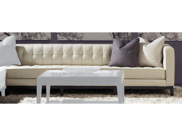 American Leather Left Arm Seating Two Cushion Sofa Lux So2 La In Portland