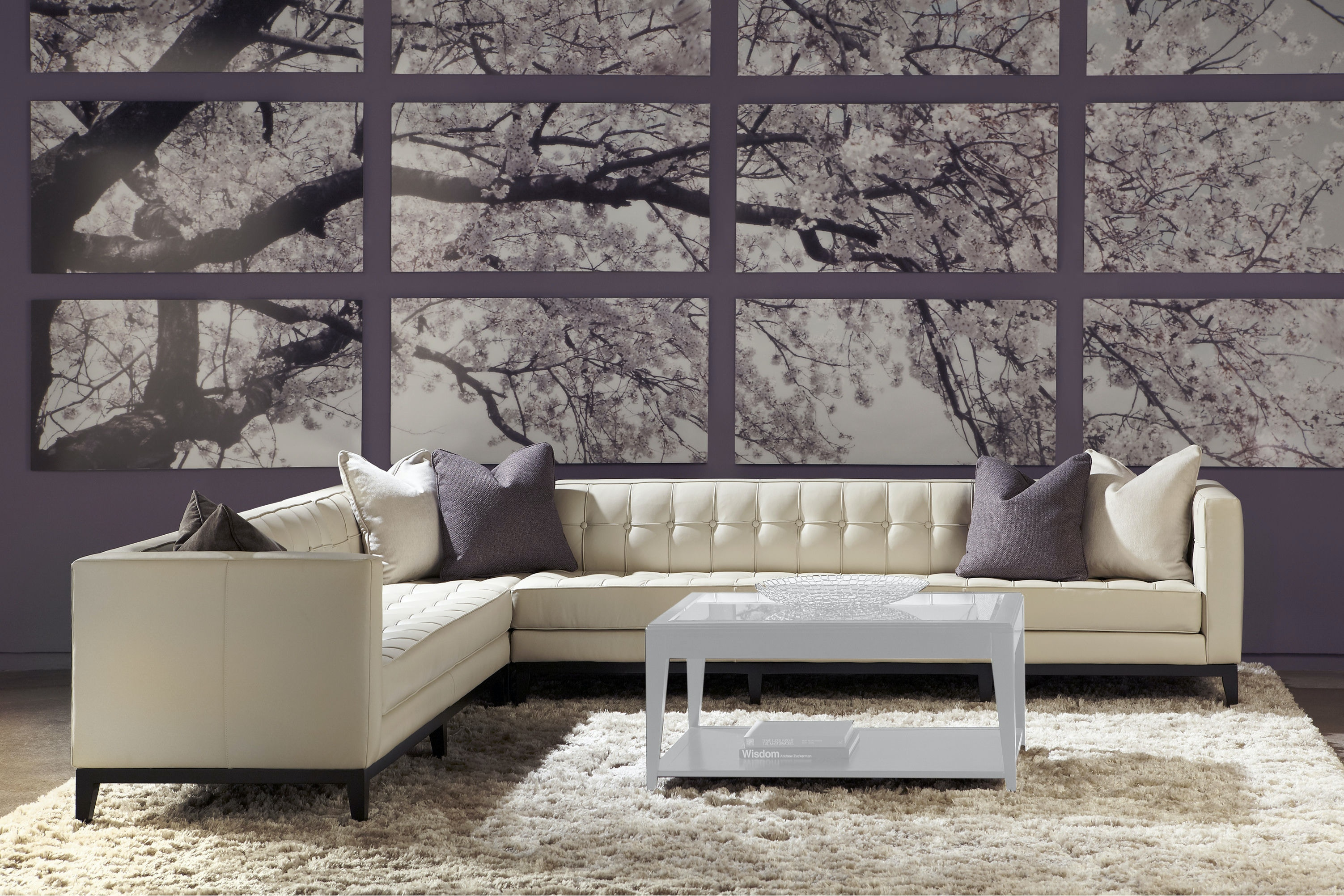 American Leather Luxe Sectional