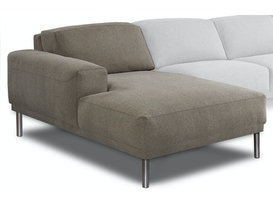 American Leather Living Room Meyer Sectional Hickory