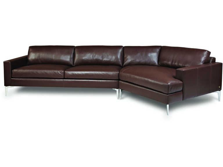 American Leather Oliver Sectional