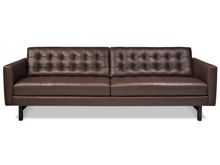 American Leather Two Cushion Sofa Pkr Sm2 St