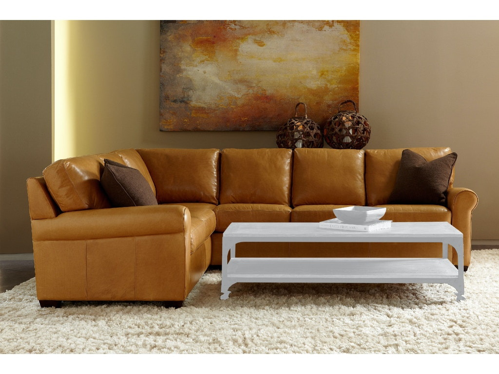 American Leather Savoy Sectional Living Room