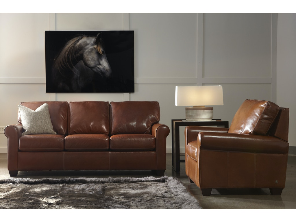 Living Room American Leather Savoy Sofa Svy So3 St Art