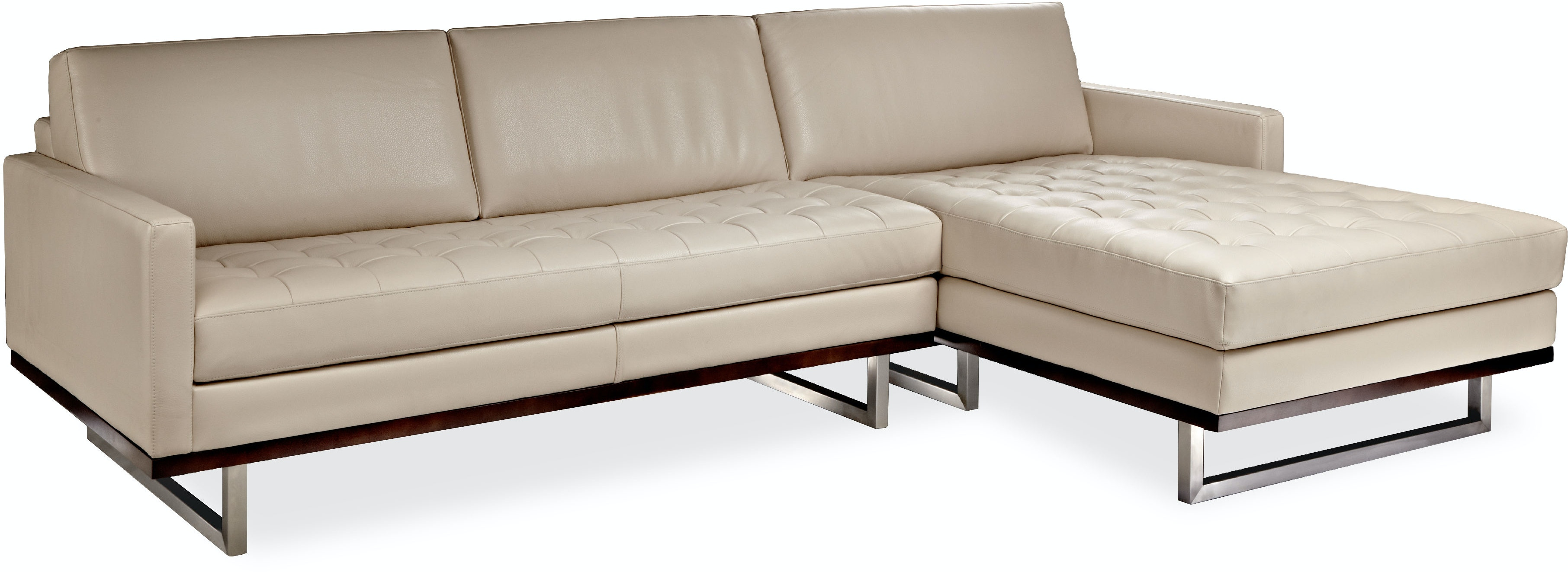American Leather Living Room Tristan Sectional Malouf