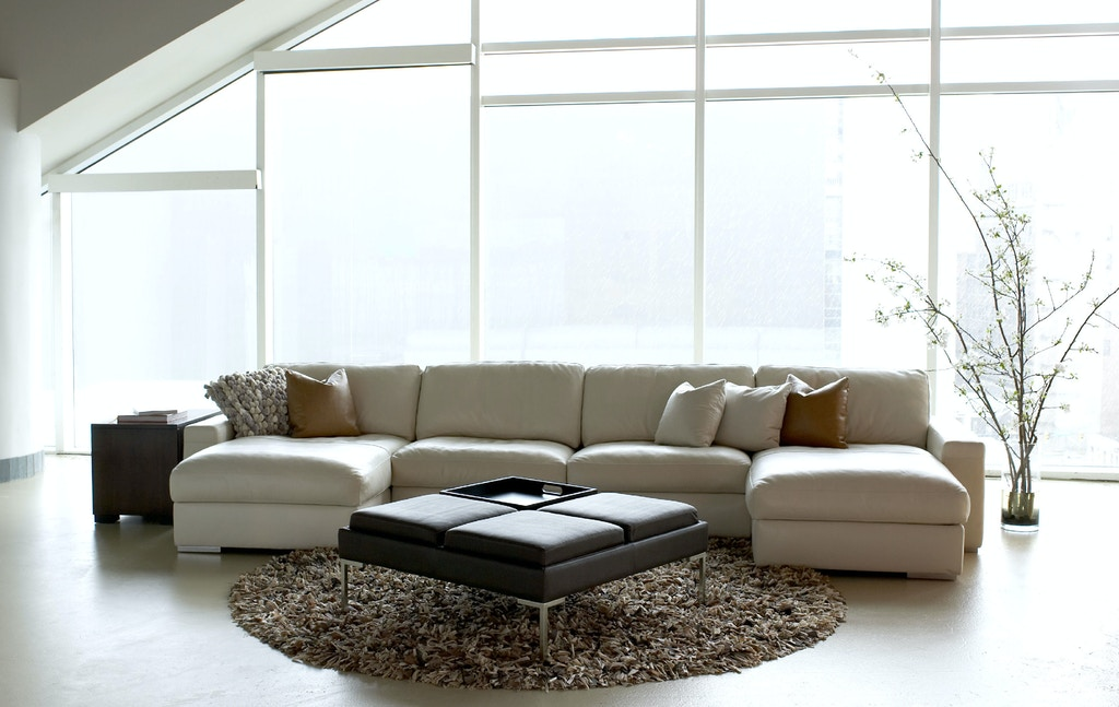 American Leather Living Room Inspiration-Sectional ...