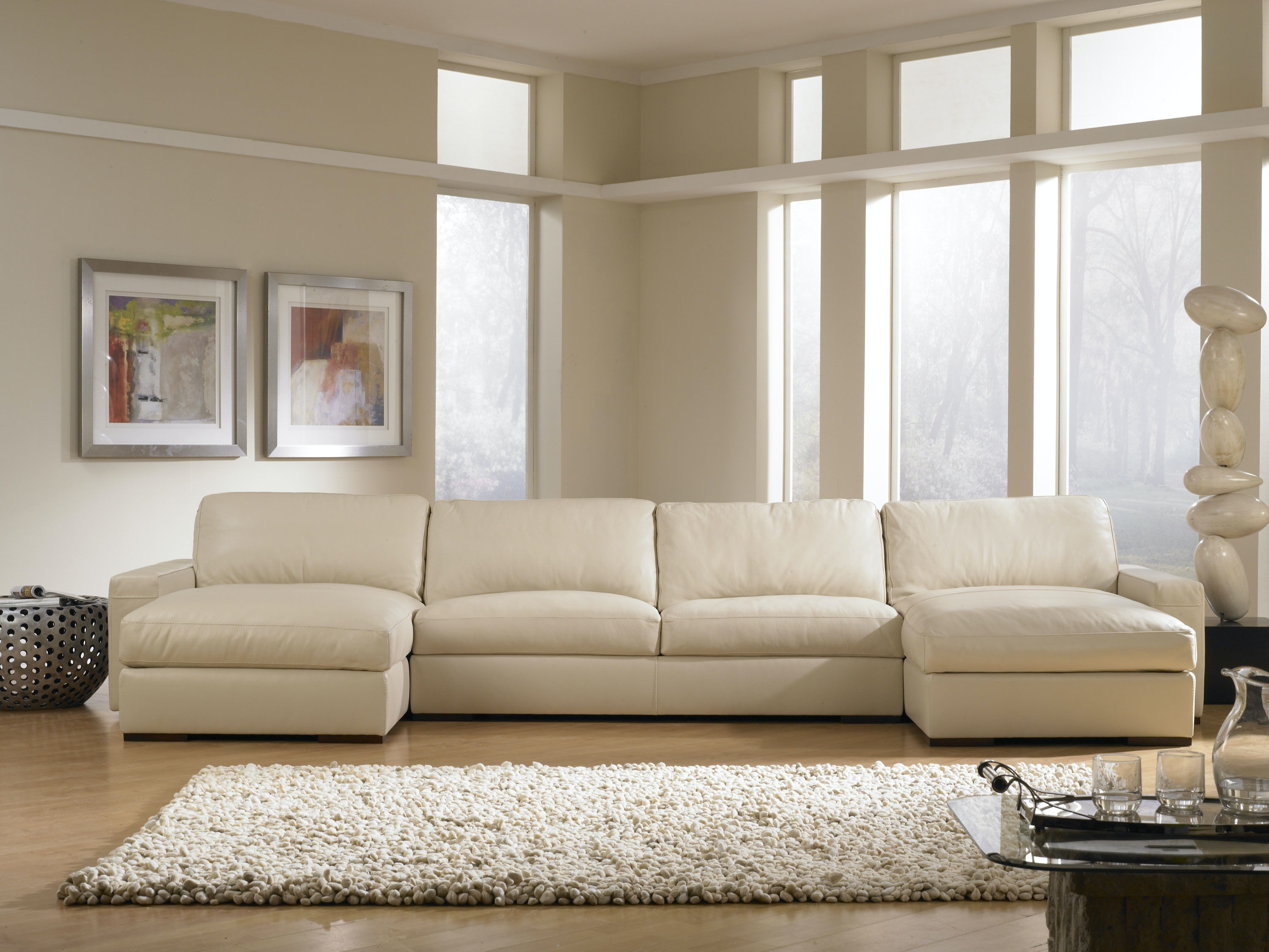 American Leather Living Room Westchester Sectional Urban