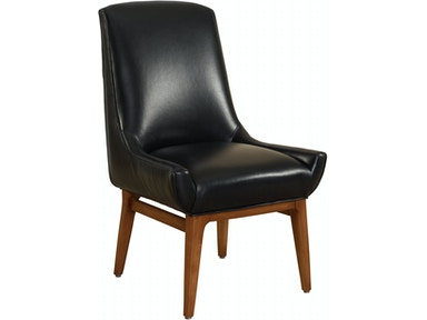 Designmaster Holbrook Leather Side Chair 01-674