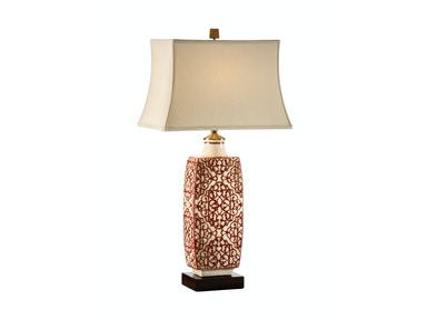 Wildwood Lamps Embroidered Bottle Lamp 12508