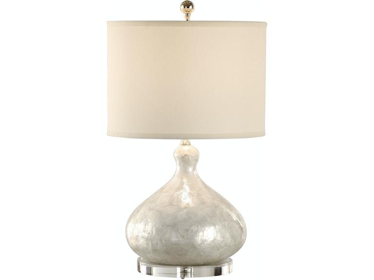 Wildwood Capiz Shell Bottle Lamp 13131