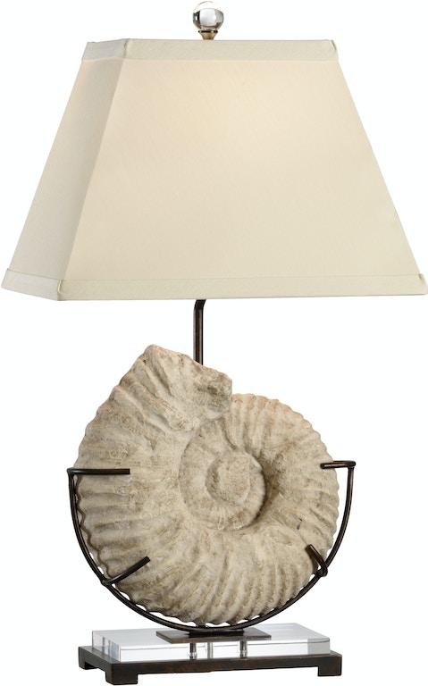 Wildwood Lamps And Lighting Ammonite Lamp 13140 Douds Furniture