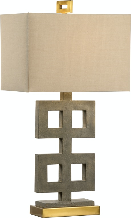 Wildwood Lamps And Lighting Ross Lamp Concrete 21758