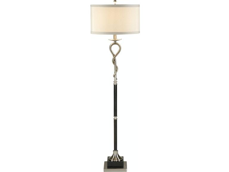 Wildwood Lamps Lamps and Lighting Loop And Twist Floor Lamp 22290 ...