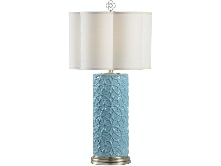 Wildwood Lamps And Lighting Cornelia Lamp Blue 23318