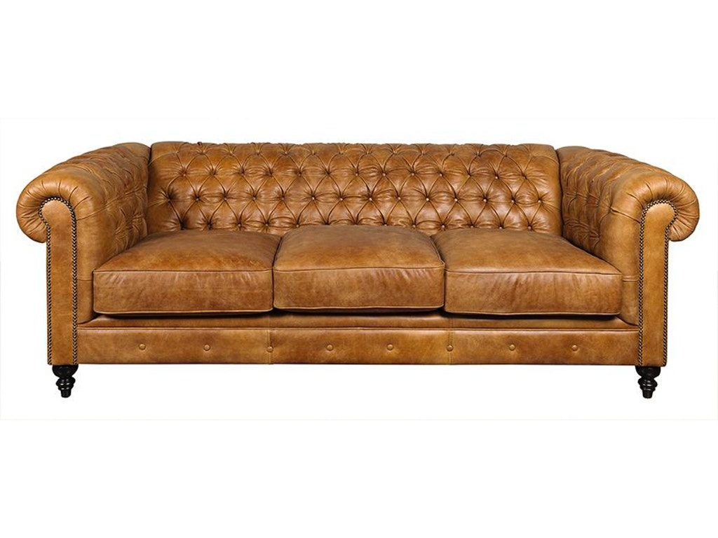 Legacy Leather Living Room Charleston Sofa Hickory