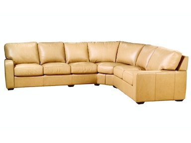 Legacy Leather San Diego Sectional San Diego Sectional