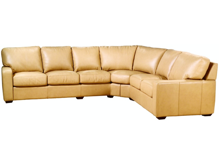 Legacy Leather Living Room San Diego Sectional