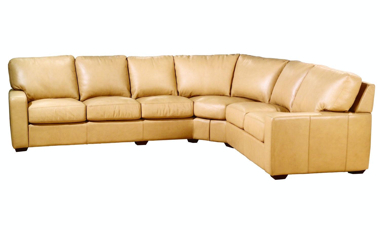 Legacy Leather San Diego LAF Sofa Wedge